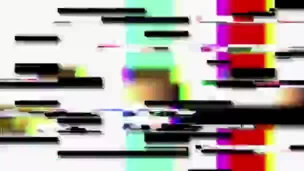 Digitális fénylik és tv statikus zaj