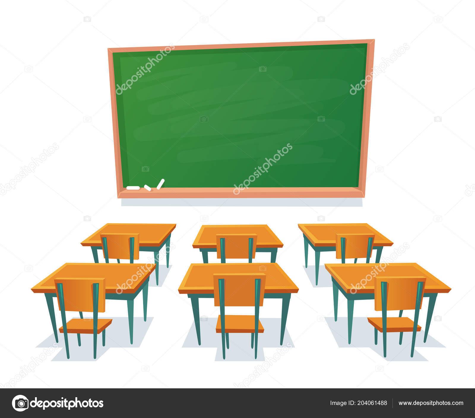 Tableau D Ecole Et Un Bureau Tableau Vide Bureau En Bois De Salle