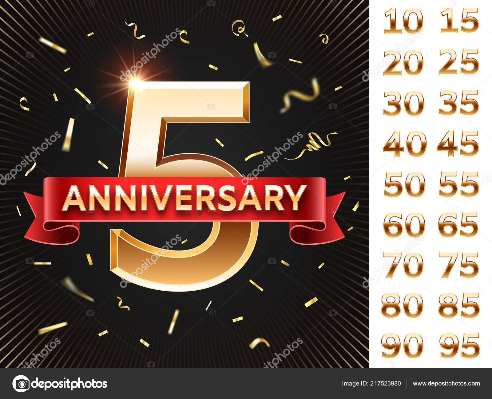 Tarjeta De Invitación De Aniversario Tarjetas De Fiesta Con