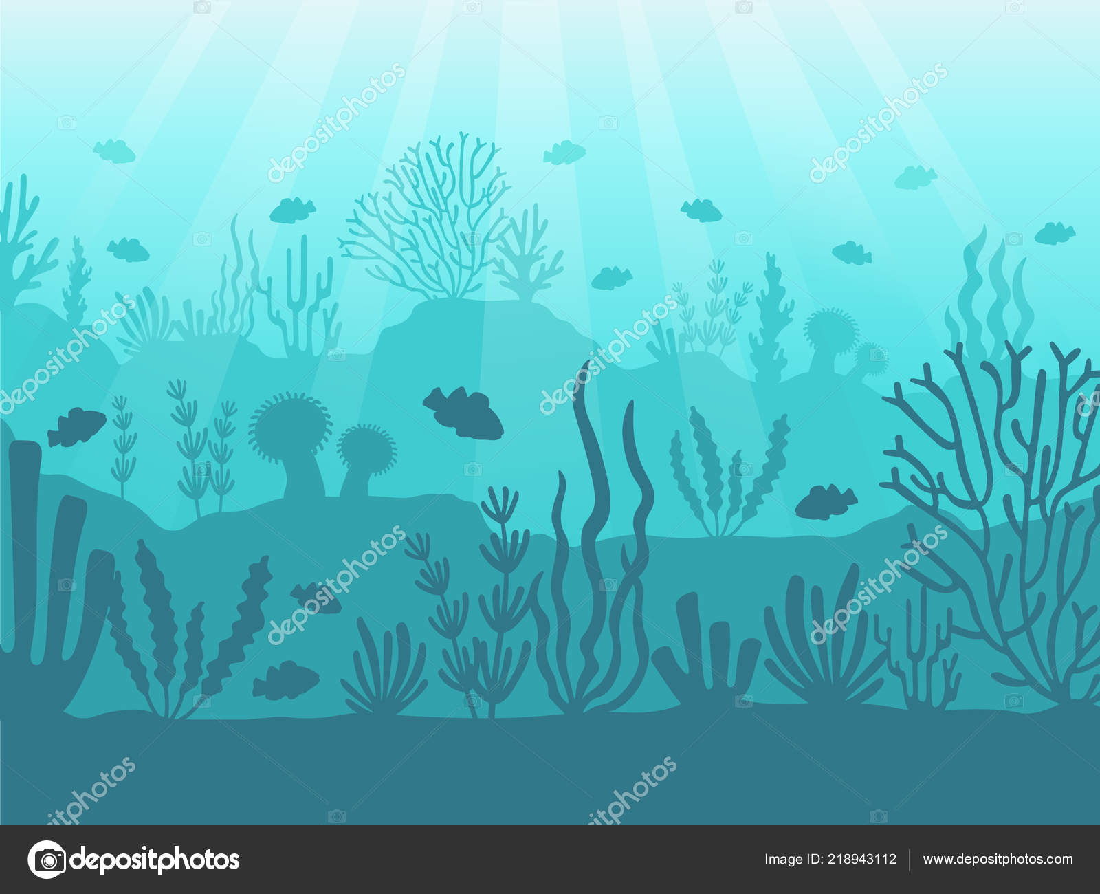 Bottom Of The Ocean Wallpaper Underwater Seascape Ocean