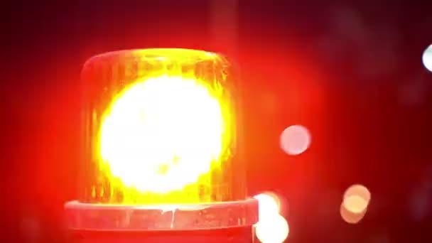 Výstražná světelná siréna nebo nouzový indikátor