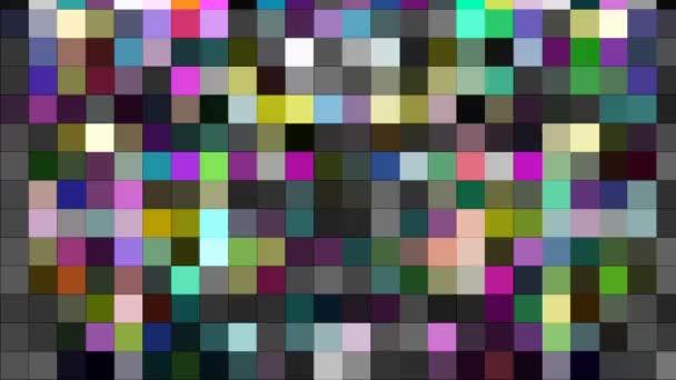 Barevné abstraktní blikající mozaikové obrazové body