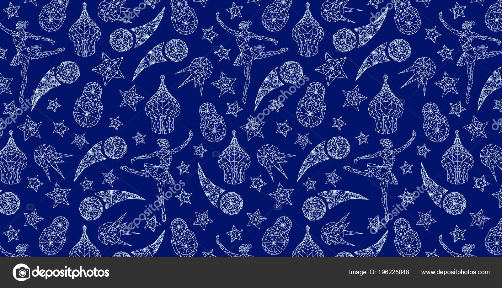 Papel pintado azul ruso mundo del patr n rusia con elementos archivo im genes vectoriales - El mundo del papel pintado coruna ...