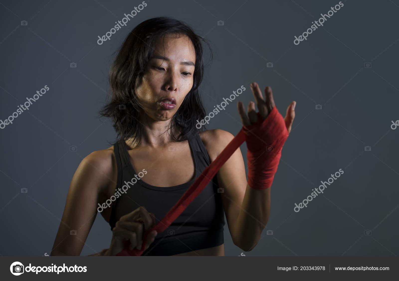 Badass Girl Boxer Concept Art