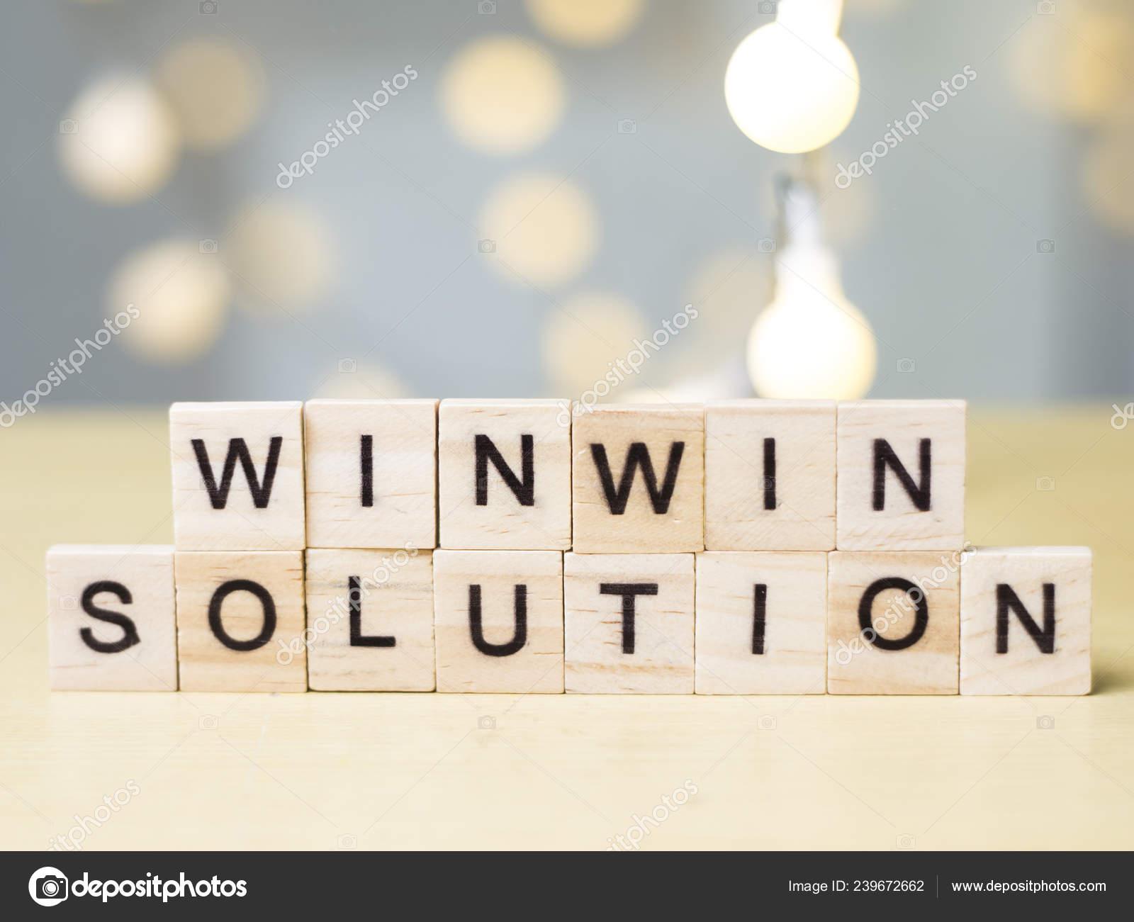 Letra Palabras Solución Ganar Ganar Cotizaciones Motivación