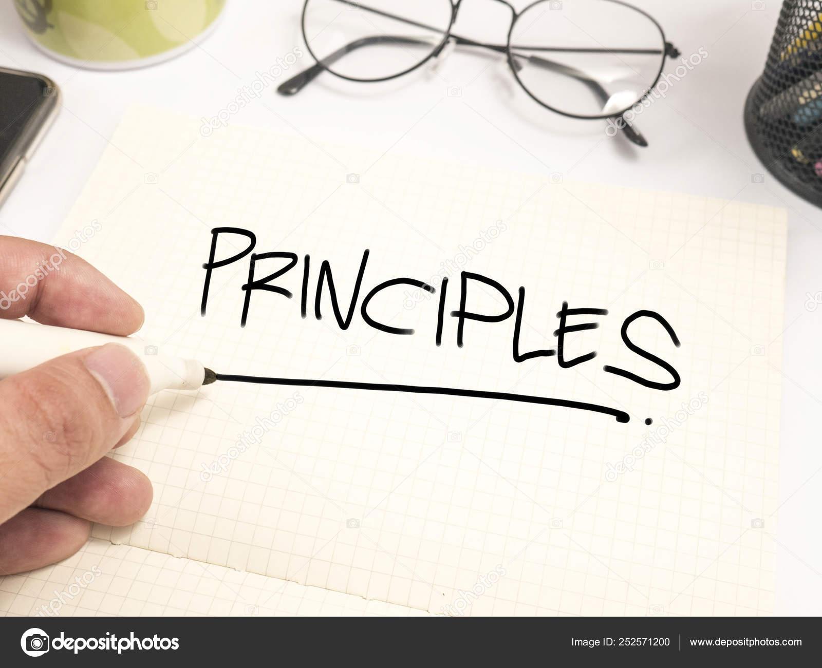 Principios Concepto De Citas Palabras Motivacionales Foto