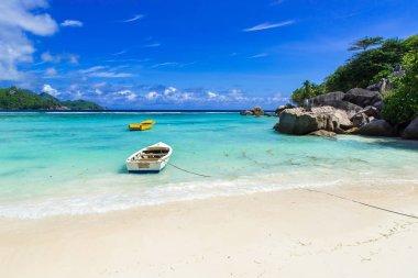 Petite Anse - beautiful beach on island Mahe, Seychelles