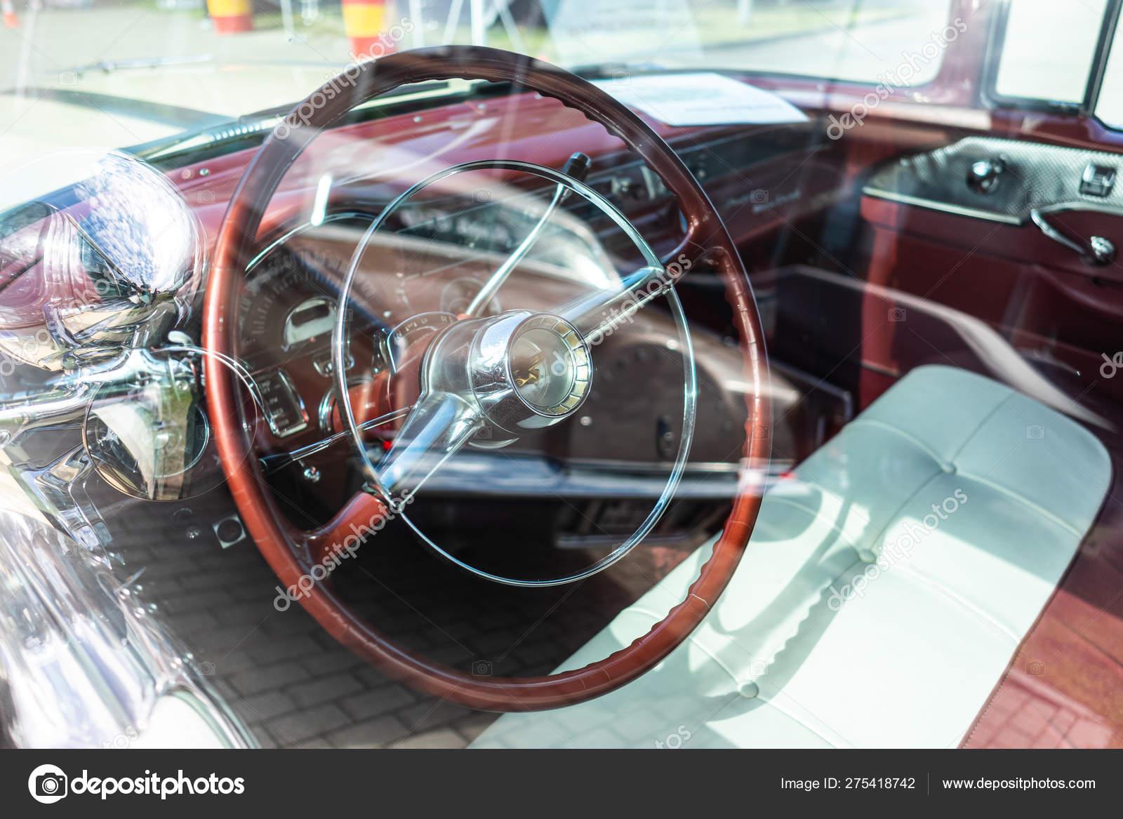 Paaren Glien Germany June 2019 Interior Full Size Car Pontiac