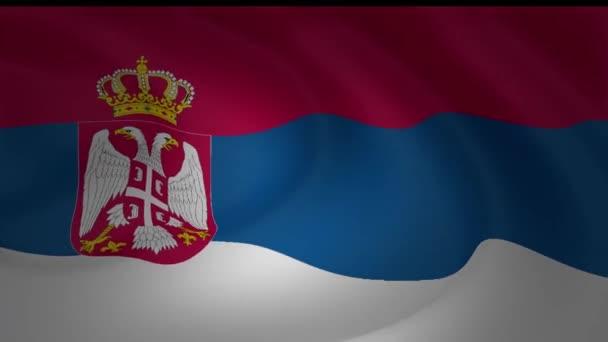 Gyönyörűen fúj a szél gyűjtemény Szerbia zászlaja