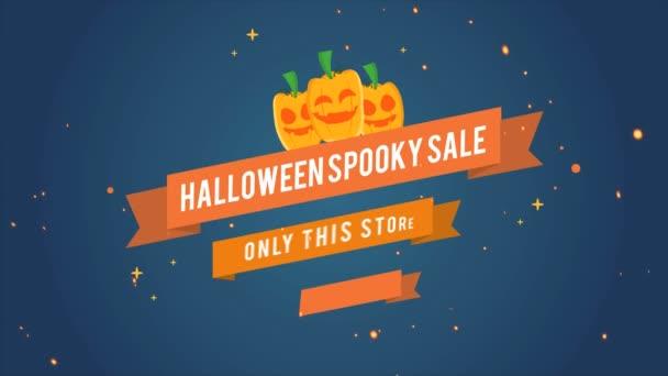 Animace Halloween spooky prodej 50 neshromažďovala motivu pozadí
