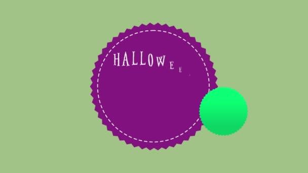 Halloween výprodej až do 20 téma animace pozadí kolekce