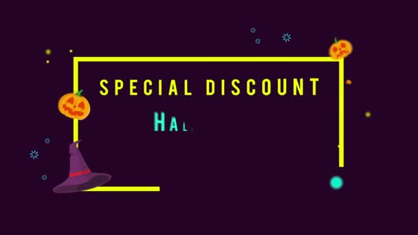 Special discount Halloween sale up to 25 animation background