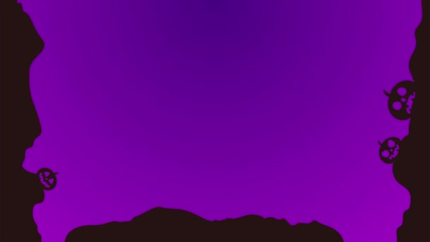 Background of Halloween theme animation stock collection