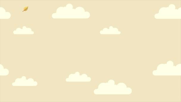 Záběry z Hello podzimu s kolekce pozadí cloud