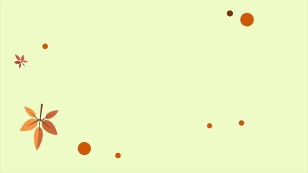 Ciao collection autunno stagione sfondo animazione