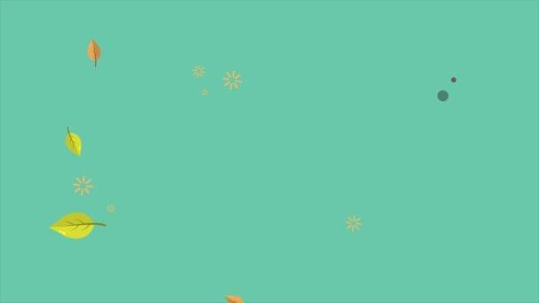 Krásná podzimní sezóně opustí animace kolekce