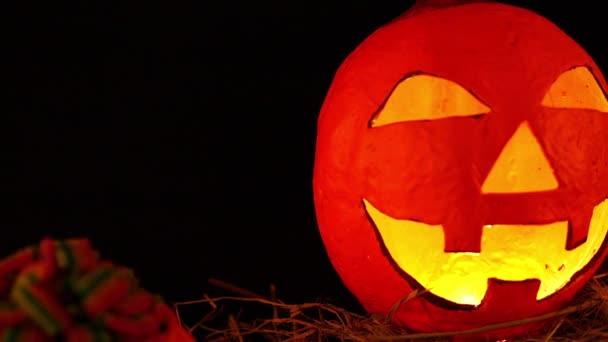 Tök lentern animált Halloween napja gyűjtemény