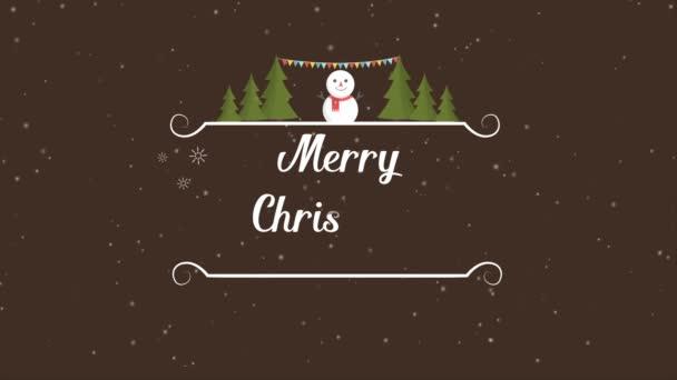 Veselé Vánoce a šťastný nový rok záběry kolekce