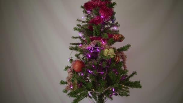 Záběry z místnosti zařízené pro Vánoční kolekce