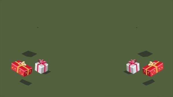 Záběry z vánoční dárek. Vánoční prodej sbírky