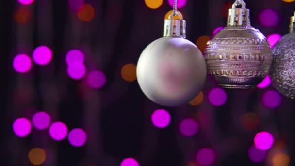 Záběry z Dekorativní koule vánoční. První svátek vánoční kolekce
