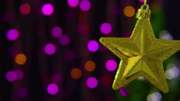 Záběry z výzdobný prvek Vánoce. První svátek vánoční kolekce
