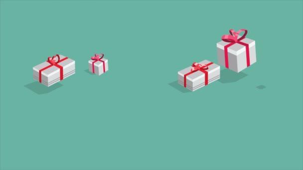 Záběry z dárkových krabic pro vánoční prodej sbírky
