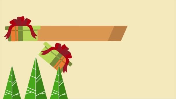 Aufnahmen von frohen Weihnachtsgeschenken Verkauf Sammlung