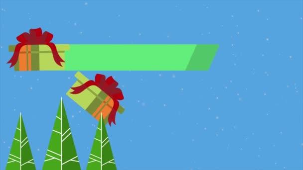 Záběry z veselé vánoční dárek prodej sbírky
