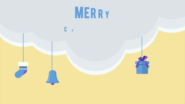 Animace, vánočních výrobků. Veselé Vánoce kolekce