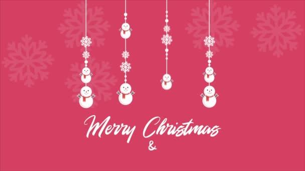 Boldog karácsonyi háttér felvételeket hóember gyűjtemény