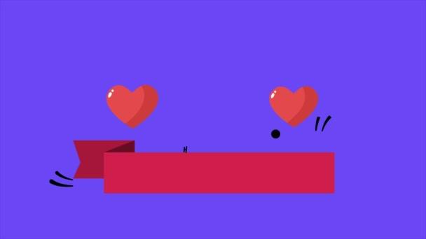 Záběry ze srdce pozadí pro šťastný Valentýna kolekce