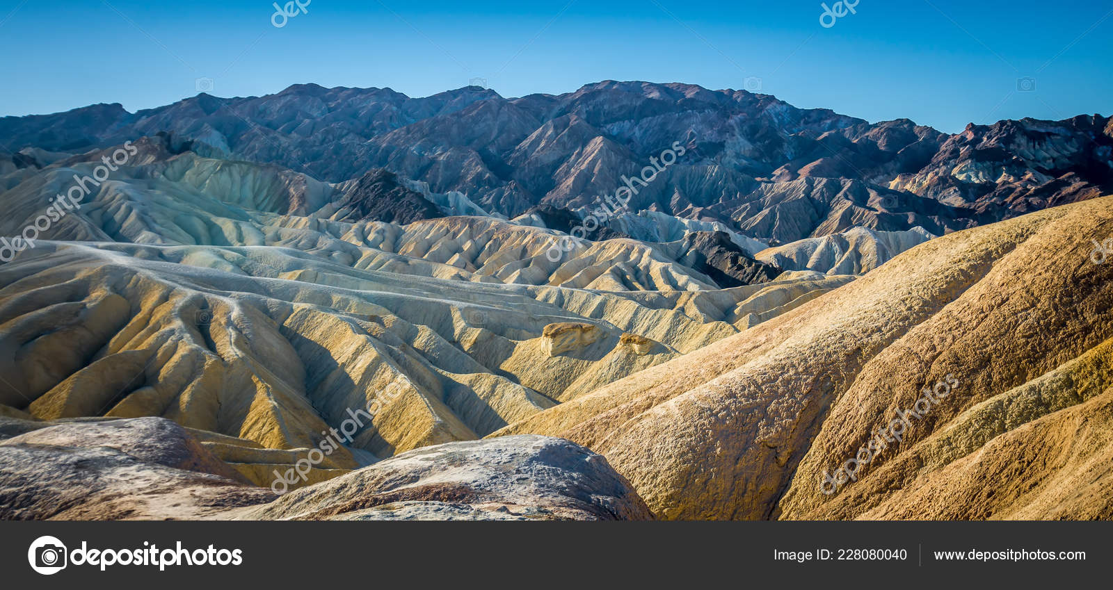 Caminata Del Parque Nacional Valle Muerte California Foto De Stock