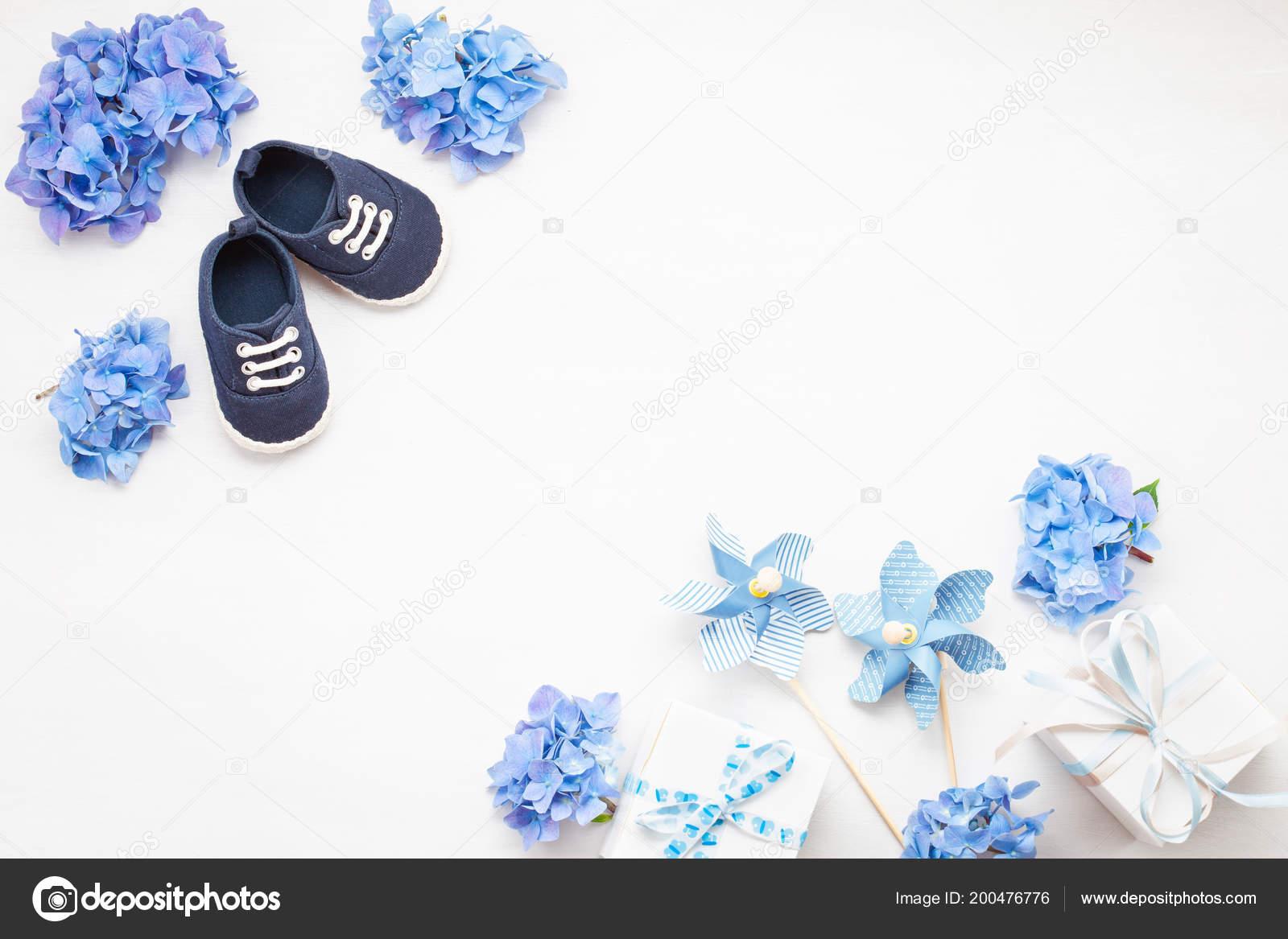 Cute Newborn Baby Boy Shoes Festive Decoration White