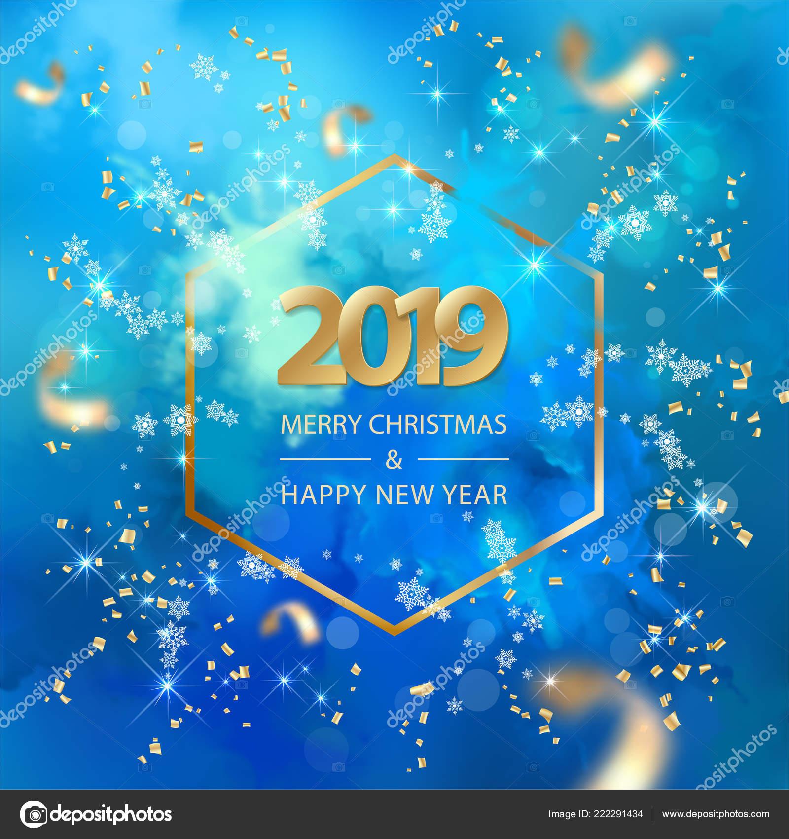 Yılbaşı Yeni Yıl Arka Plan Stok Vektör Kostins 222291434