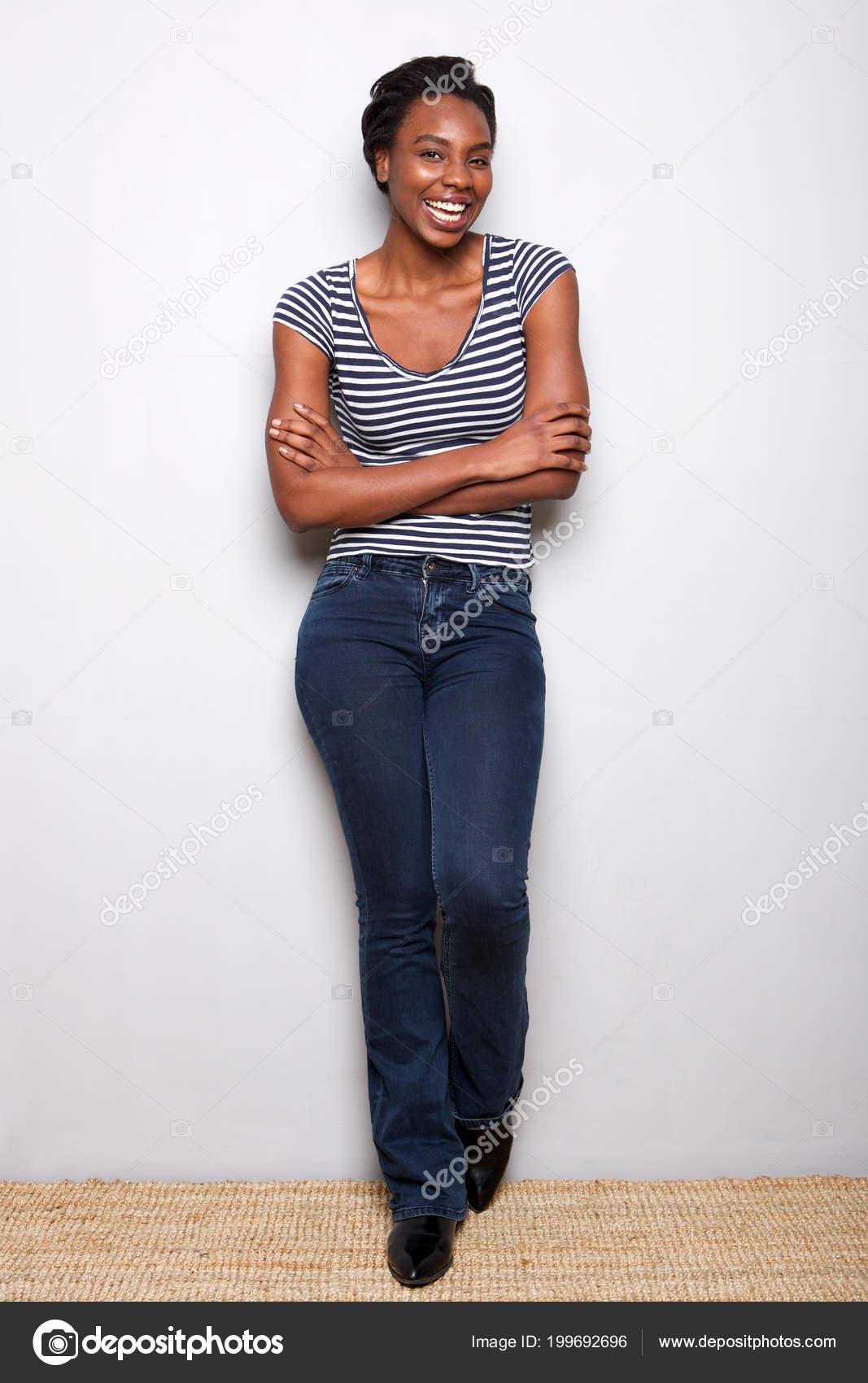 GroГџe schwarze Frau