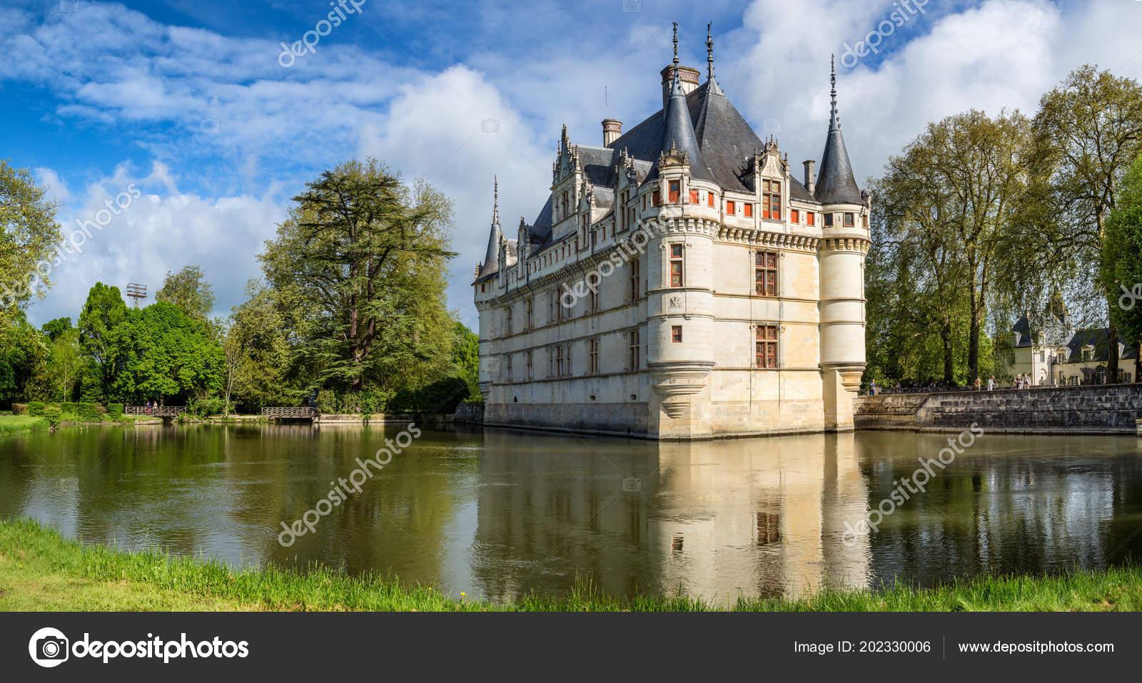 Azay Rideau France May 11th 2013 Beautiful Chateau Azay Rideau