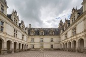 Fotografie The Chateau of Villandry in the Indre et Loire region of the Loire Valley, France