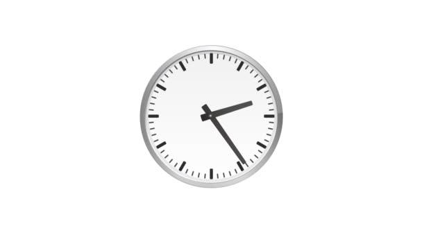 Óra, perc és óra kezét gyorsan mozgó. Időközű nagyítás