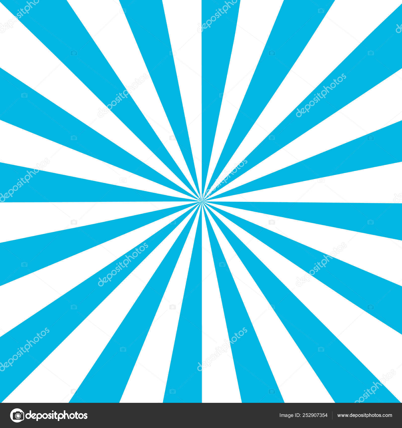 Blue White Sunbeam Background. Blue Striped Abstract Wallpaper. Vector  Illustration ⬇ Vector Image By © Annlarich | Vector Stock 252907354