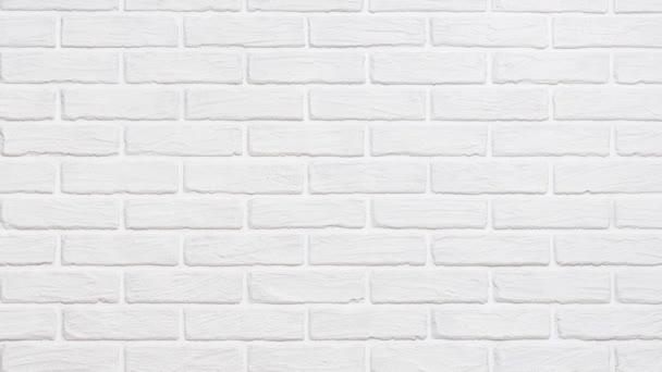 white brick wall background slide effect