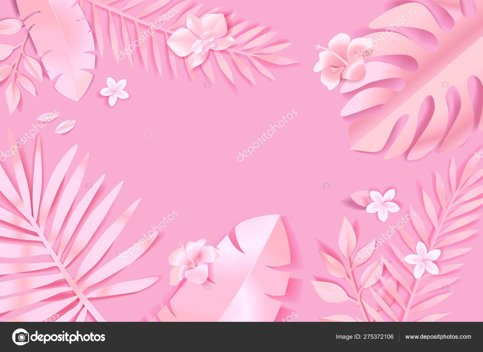 Beauty Nature Background Concept Website Design Advertising Social Media Banner Stock Vector C Variant 275372106