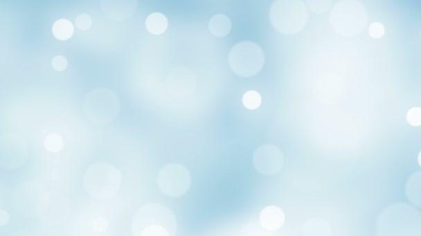 Bezešvá smyčka - abstraktní Bokeh světla s barevné pozadí