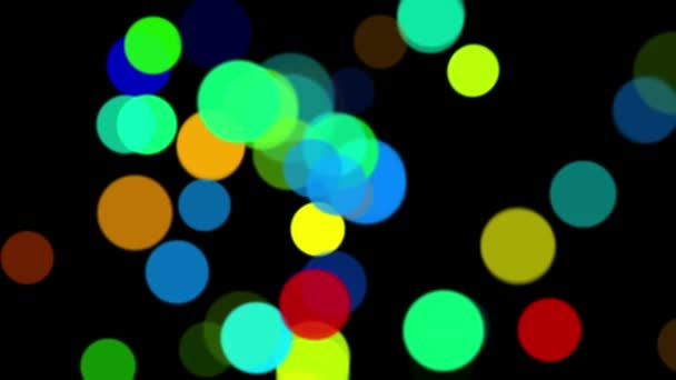 Barevné abstraktní kruhy na bílém pozadí