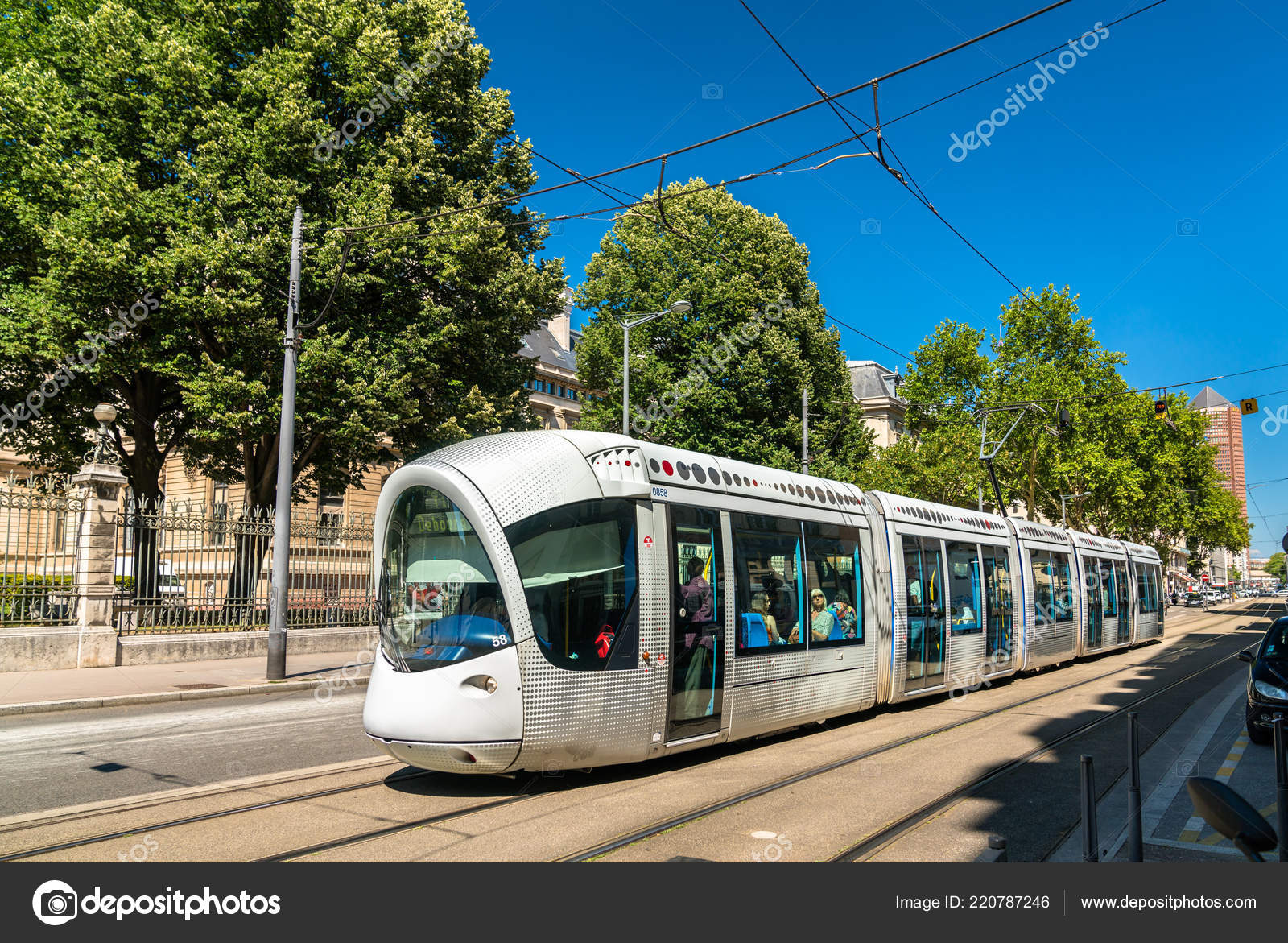 Public transport lyon