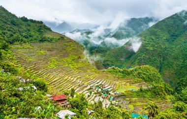 Batad Rice Terraces, UNESCO world heritage in the Philippines