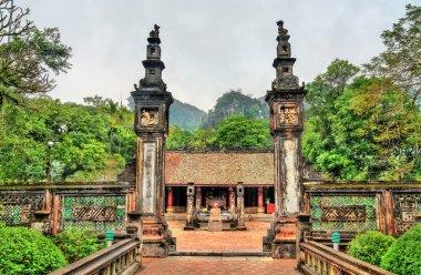Xuan Thuy temple at Hoa Lu, an ancient capital of Vietnam