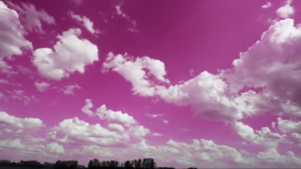 Idő telik fényképezés mozgó felhők HD 30 képkocka / másodperc