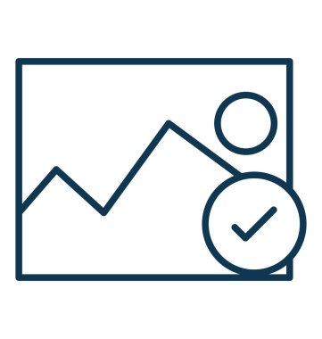 Approved Image Vector Icon