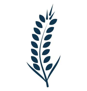 Wheat Ear Vector Icon editable
